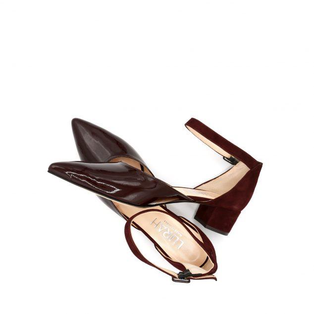 scarpa cinturino vernice lurah 42
