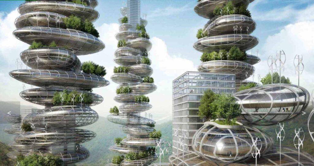 progetto di eco-distretto sostenibile dell'architetto Vincent Callebout