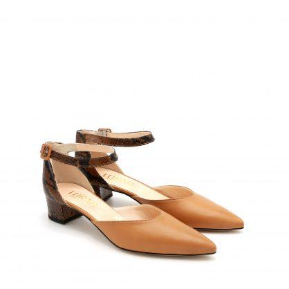 scarpa cinturino pitone lurah 42
