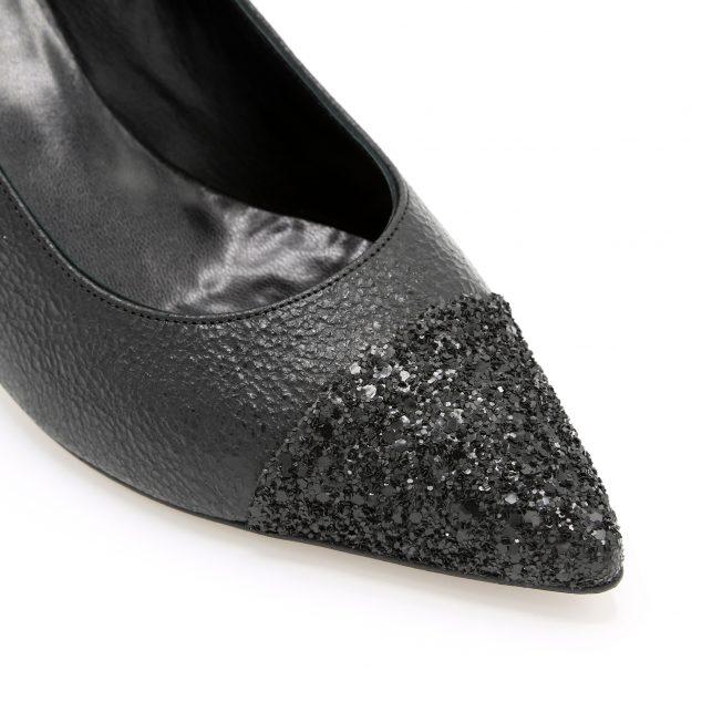 decollete-nero-pelle-glitter-lurah-punta