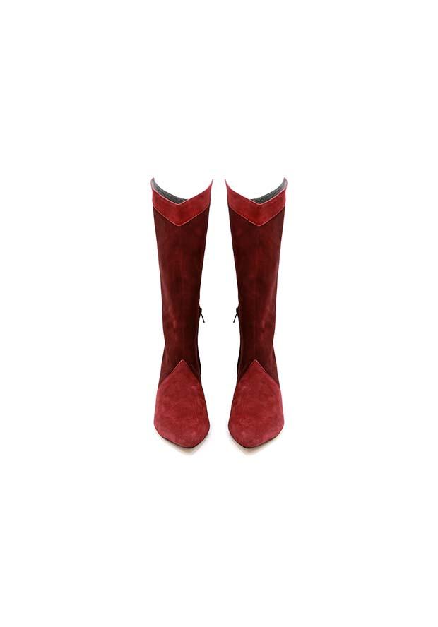 Stivale punta gambale morbido lurah scarpe donna numeri grandi.jpg