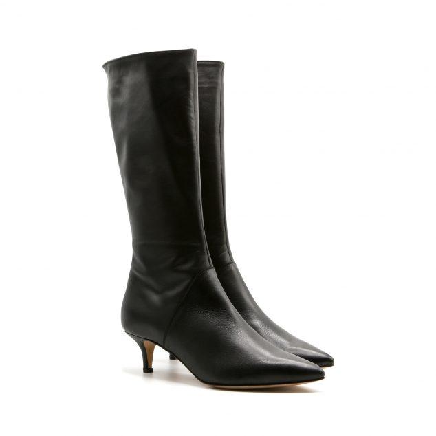 stivale con zip lurah scarpe donna numeri grandi