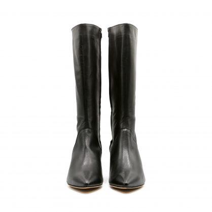 stivale nero scarpe donna numeri grandi lurah