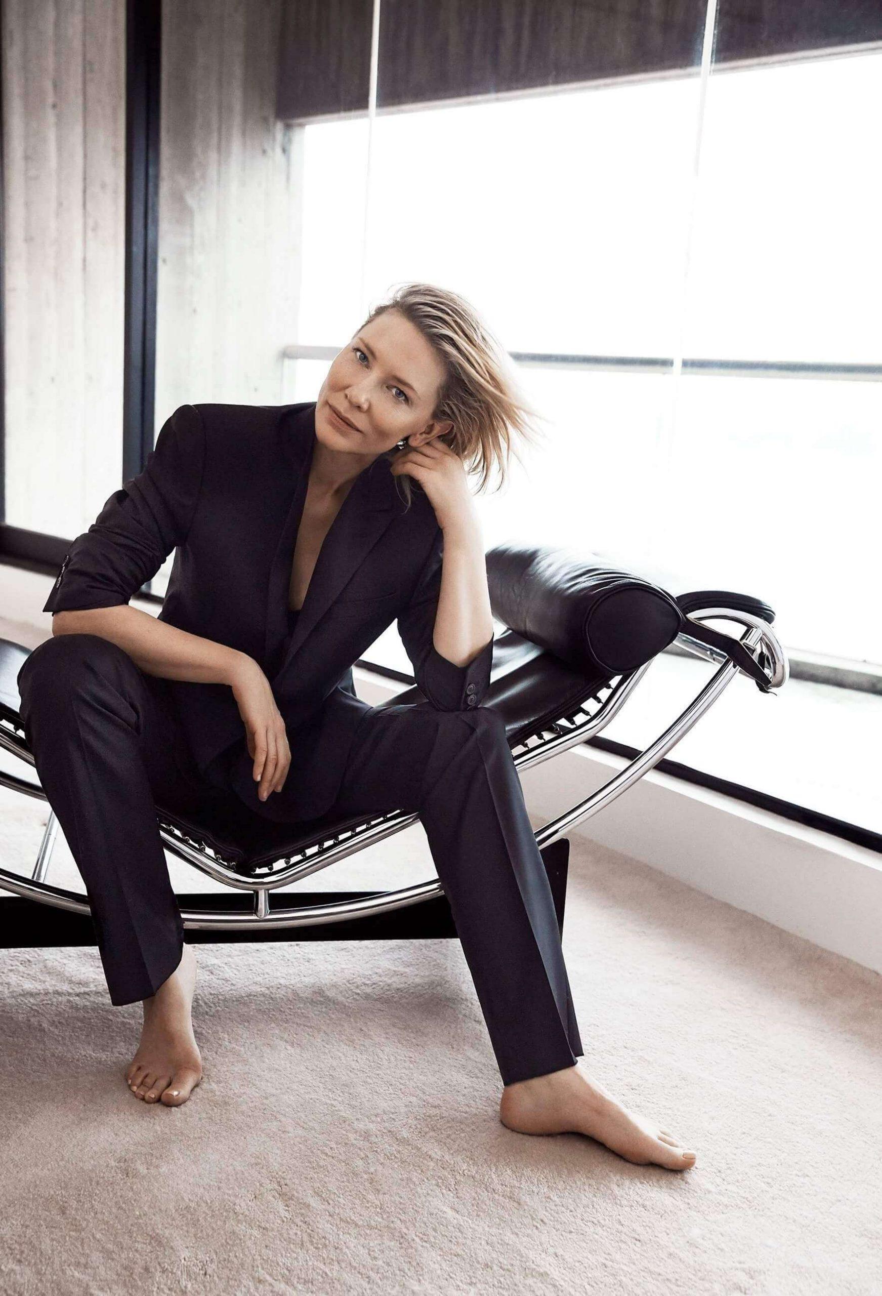Cate Blanchett piedi lunghi