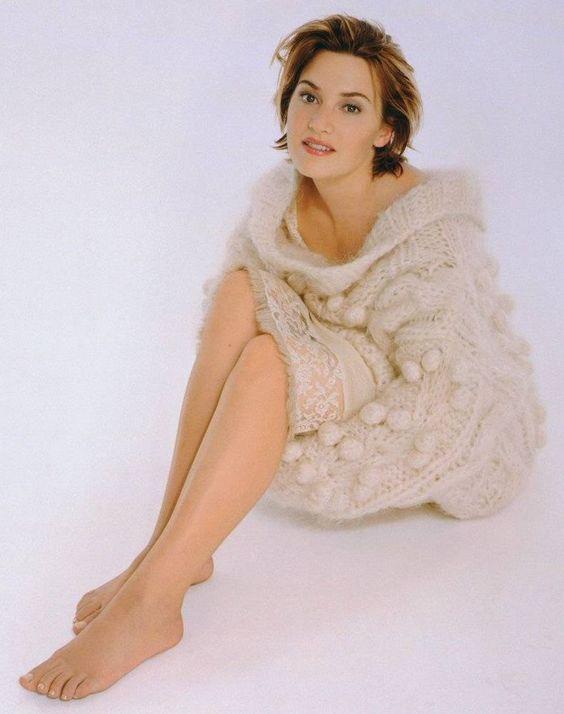 Kate Winslet piedi lunghi