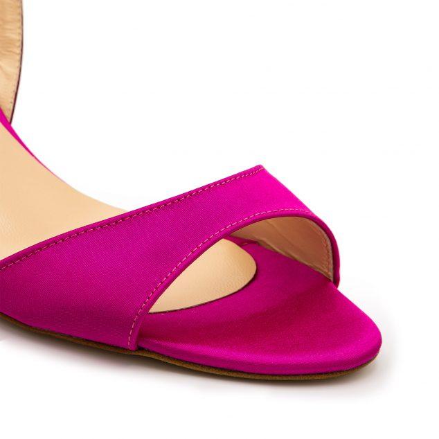 Sandalo Raso Rosa Rosso Con Cinturino Incrociato numeri 41 42 43 44 45