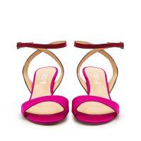 Sandalo Raso Rosa Rosso Con Cinturino Incrociato numeri 41_42 43_44_45