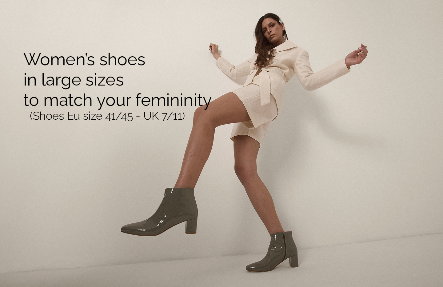Womens shoes in large sizes LURAH